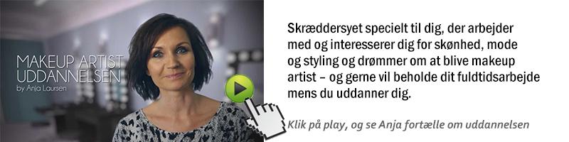 makeup artist uddannelse i Århus og København