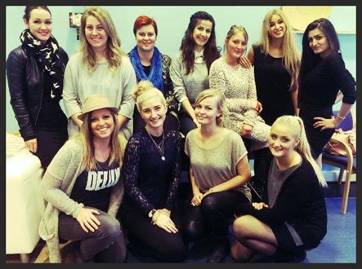 11 nyuddannede makeup artister fra makeup artist uddannelsen i Århus