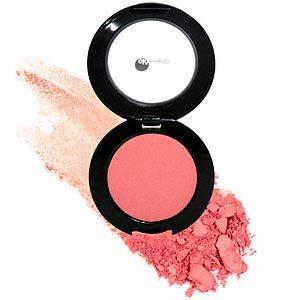 Peach farvet blush fra glominerals