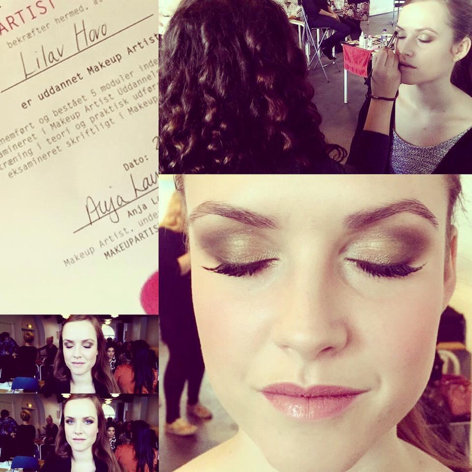 Nu har Lilav diplom på sine evner som makeup artist