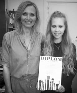 Katrine Severinsen har fået drømmejobbet som makeup artist hos MAC