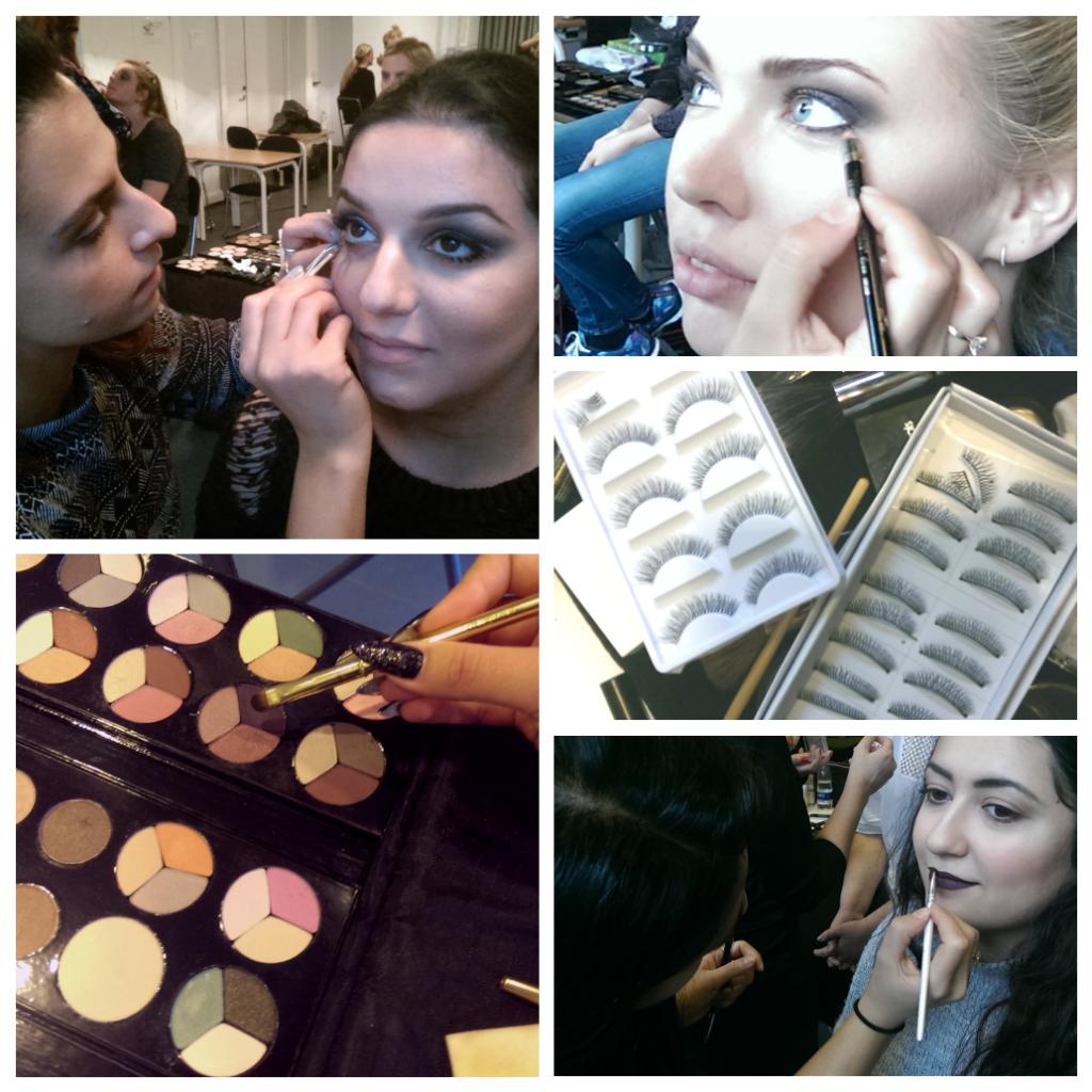 Tag uddannelsen til makeup artist mens du passer dit arbejde