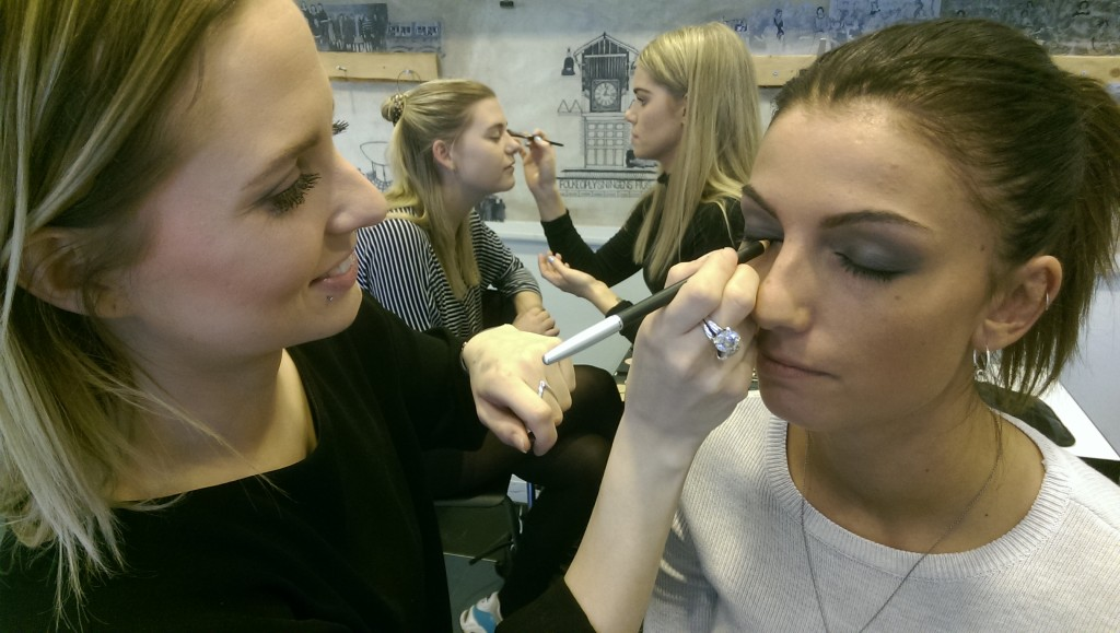 Passion for makeup, skønhed og styling på makeup artist uddanenelsen