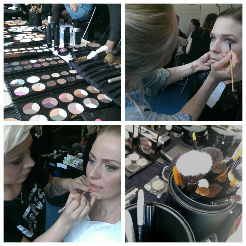nyudklækkede makeup artister