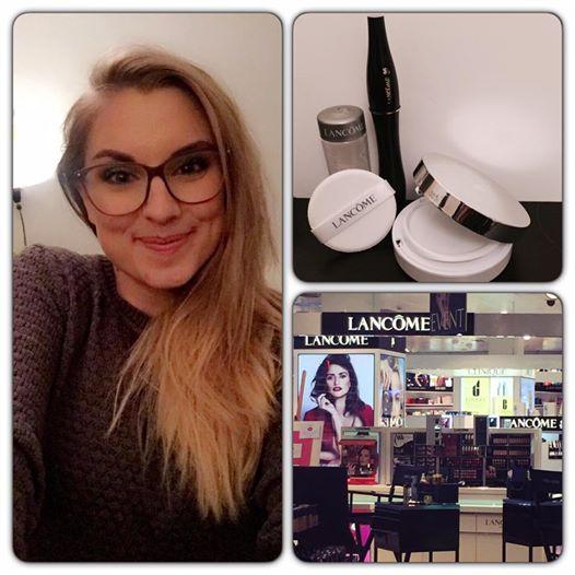 job som makeup artist hos Lancôme og Sephora