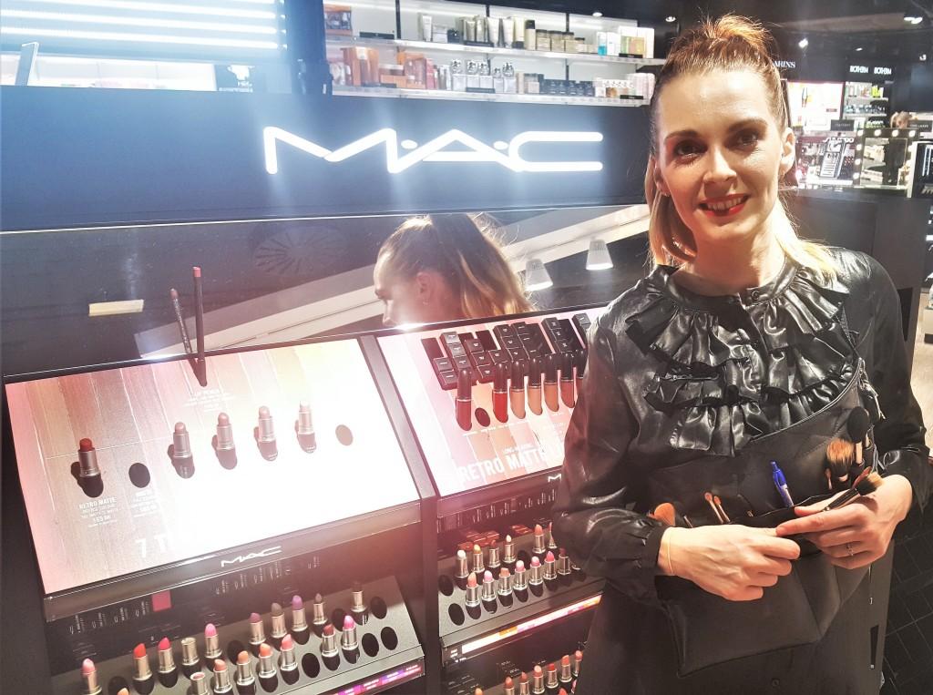 Annemette er Retail Manager I MAC